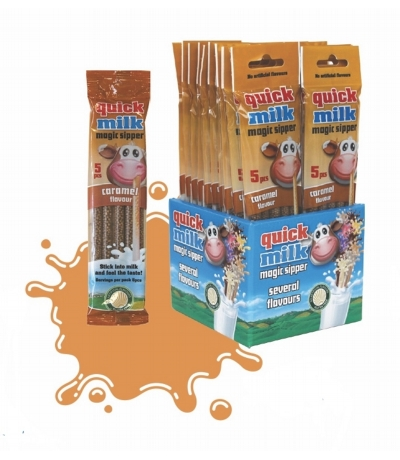 1 x 10 pack Caramel Magic Sippers