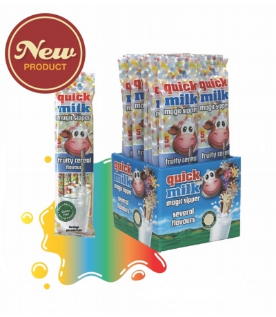1 x 10 pack Fruity Cereal Magic Sippers